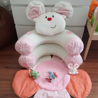 Blossom farm sit me up baby inflatable seat