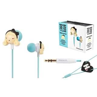 Monster Super Kawaii 原宿娃娃有線耳機 (有保用)