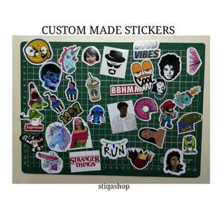 [CUSTOM MADE] STICKERS
