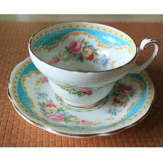 Foley Bone China Teacup And Saucer 英式骨瓷茶杯及碟