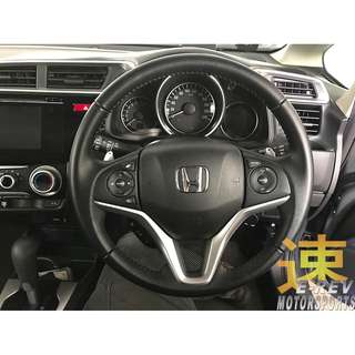 Honda Jazz GK Carbon Fibre Steering Wheel Promotion