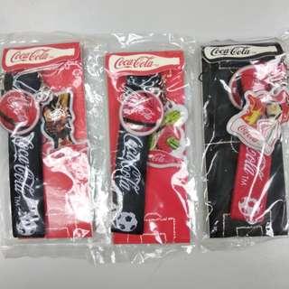 可口可樂Coca Cola電話繩(一套三件)