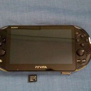 PS Vita Slim w/ 64GB mem card