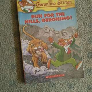 SALE! Geronimo Stilton Children's Book
