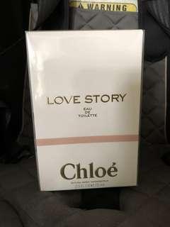 Chloe Love Story Eau De Toilette 75ml sealed edt