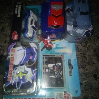 Bundle 3 transformer car toy