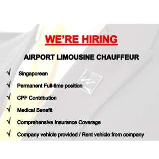 Airport Limousine Chauffeurs x 5
