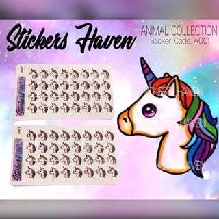 PLANNER STICKERS (Unicorn) - A001