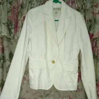 Pre💝 blazer off white