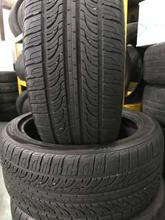 Used tayar roadstone n7000 245-40-19 90% 2pcs