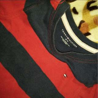 Tommy Hilfiger Sweater Red and black