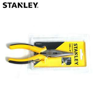 "Stanley 6"" Long Nose Pliers"