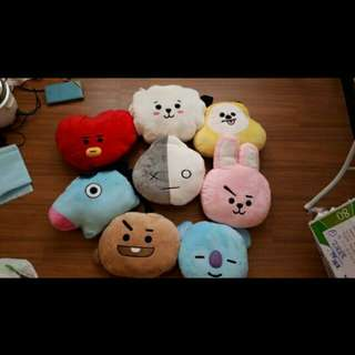 BTS PLUSHIE TOY BT21 (UNOFFICIAL)