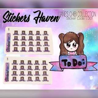 PLANNER STICKERS (To do) Lianne - L001