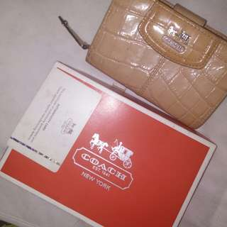 Reduced Price Coach Wallet