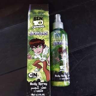 Ben 10 body spray for boys