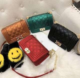 Tas Selempang Chanel Quilted Sling Bag Bag Fashion Wanita Impor 3102