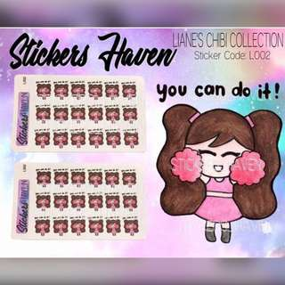 PLANNER STICKERS (You can do it) Lianne - L002