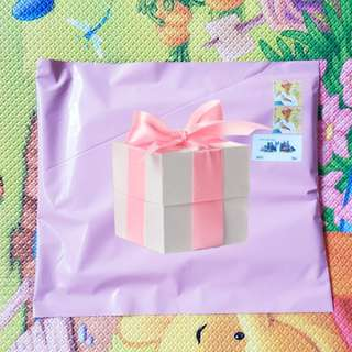 25*33cm Baby Pink Polymailers
