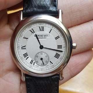 Raymond Weil original authentic watch 34mm swiss made