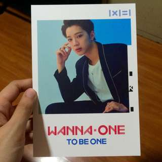 WANNA ONE LAI GUANLIN OFFICIAL POP UP STORE POSTCARD