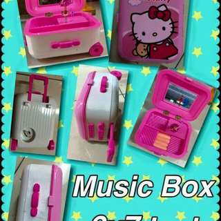 Music box storage box for accessories