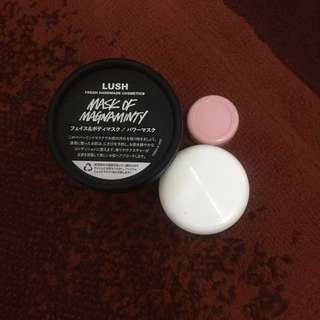 TERMURAH! Share in jar lush mask of magnaminty