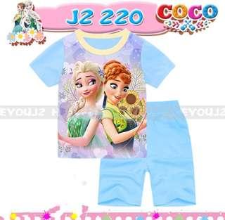 Frozen Pyjamas Casual Outing Wear