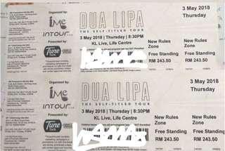 Dua Lipa 2018 Malaysia