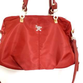Seline bag size wide 16 inches tall 10 inches  100 percent New