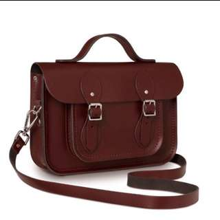 11'Cambridge Satchel Oxblood