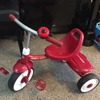 Radio flyer fold n go trike (tricycle)