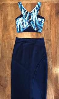 Top & Skirt Matching Set