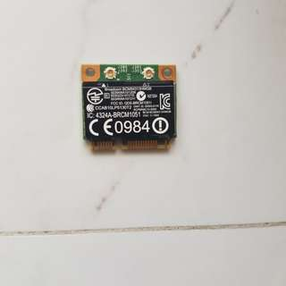 BCM94313HMGBEPA1x1 802.11n and Bluetooth 3.0 High-Speed Half MiniCard Reference Design