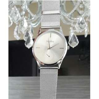 Ladies' Mesh Watch - Silver