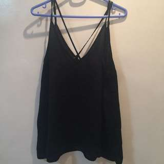 H&M Divided Criss Cross Camisole Sleeveless