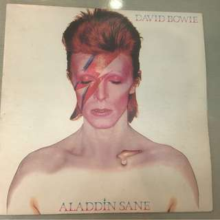 David Bowie ‎– Aladdin Sane, Vinyl LP, Limited Edition, Ryko Analogue ‎– RALP 0135-2, 1990, USA, no OBI