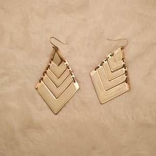 Geometic Dangle Earrings
