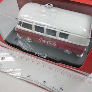 可口可樂 Coca Cola 1:38 Volkswagen Classical Bus