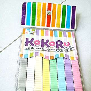 Craft - KoKoRu color Corrugated Paper