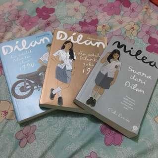 Buku trilogi Dilan