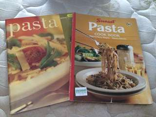 Lot of 2 Pasta Cookbooks