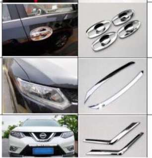 Nissan Xtrail & Qashqai accessories