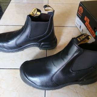King's Safety Shoes KWD706X 8/42 Hitam