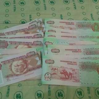 Assorted currency paper money