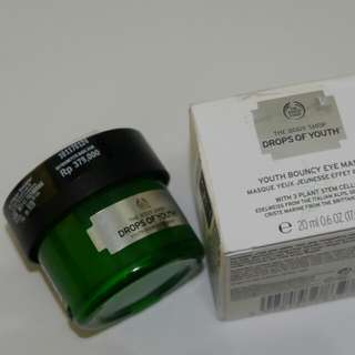 The Body Shop Drops Of Youth Eye Bouncy Mask