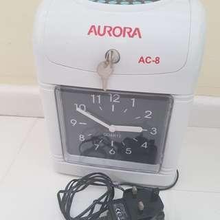 Clock in Time Machine ⏱⏲🕰
