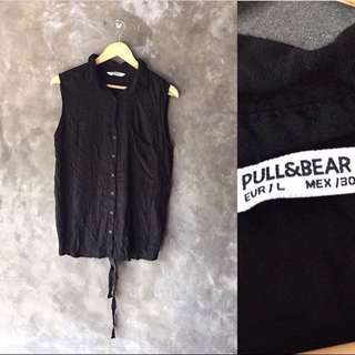Tanktop black pull&bear