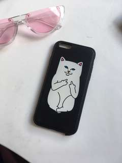 Rude cat phone case