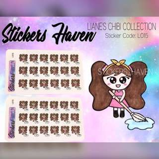 PLANNER STICKERS (Cleaning) Lianne - L015